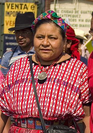 Tum, Rigoberta Menchu
