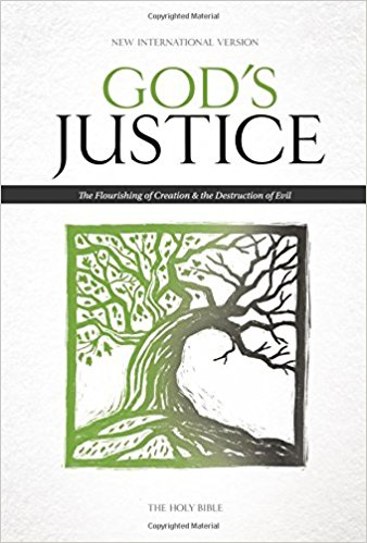 NIV God's Justice Bible