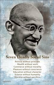 Seven Deadly Social Sins
