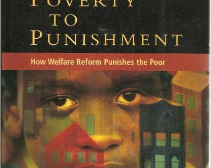 From Poverty to Punishment