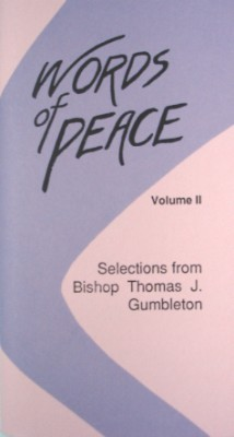 Words of Peace-Gumbleton