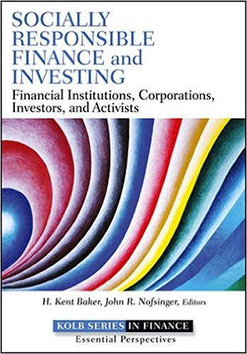 Socially Responsible Finance & Investing