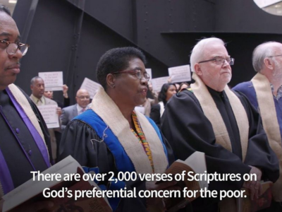 Religious Leaders Protesting the 2017 Tax Reform Bill