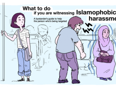 What to Do if You See Islamic Harassment