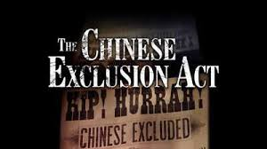 The Chinese Exclusion Act